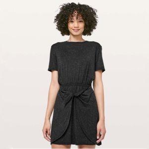 Lululemon Unwind Your Mind Dress Black & White {C}